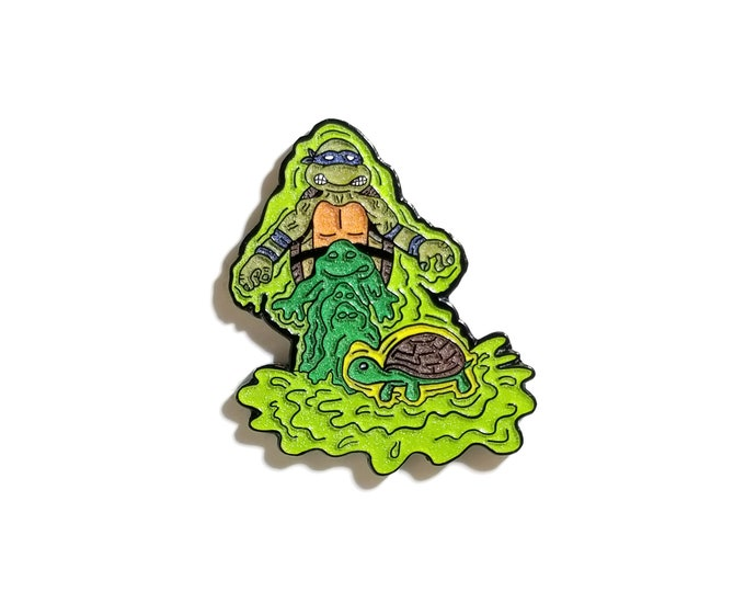 Leonardo Mutation lapel pin