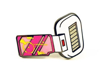 Dragonball Z Pink Scouter pin