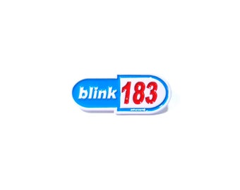 BLINK 183 lapel pin