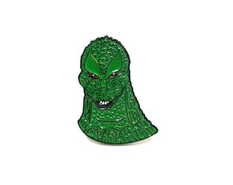 Godzilla Head pin