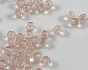 Rosaline Czech Glass Round beads 2mm - 50 pcs