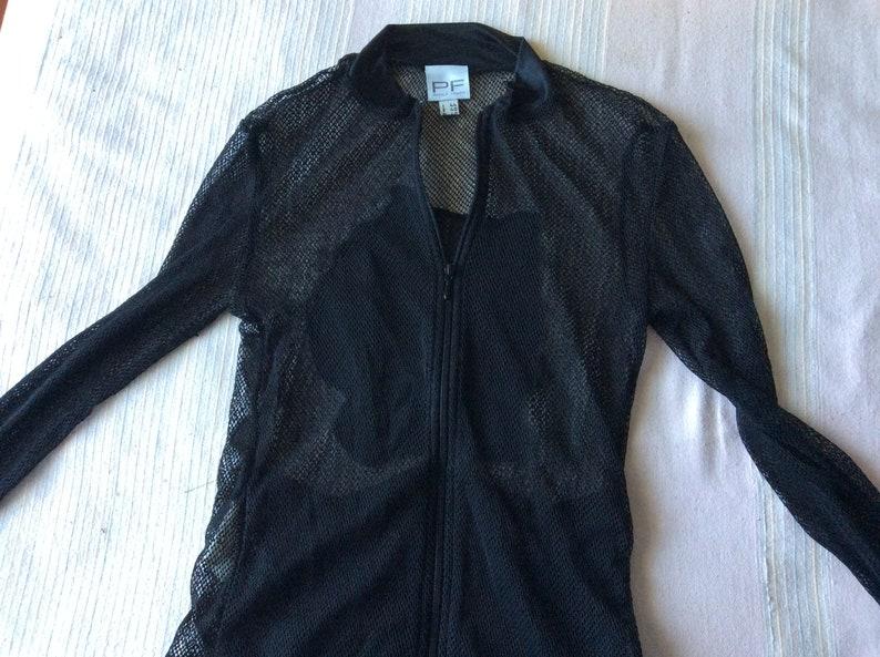 NET shirt with zip Paola Frani