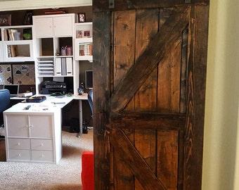 Rustic Jacobean Barn Door Set Of 2