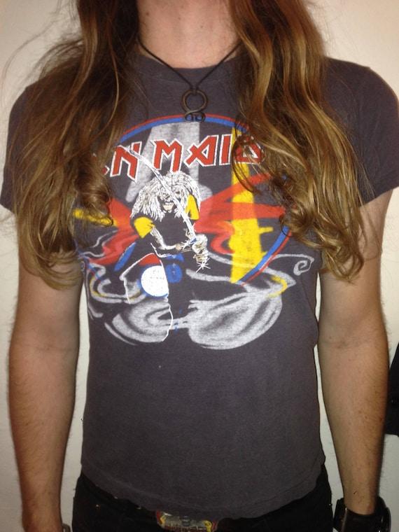 Vintage Original 1981 Iron Maiden Maiden Japan Tou
