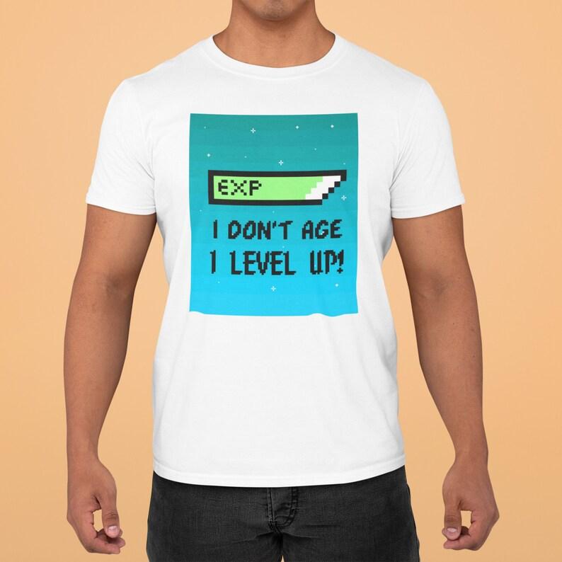 I level up I don/'t age