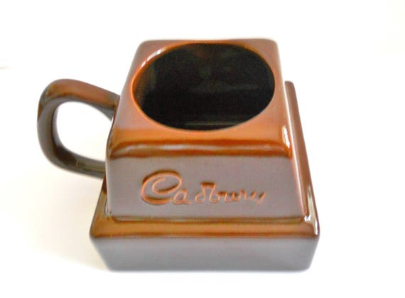 Vintage Cadbury Brown Hot Chocolate Mug