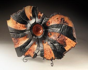 Burr Elm Sculpture 19x14x5inch Turned wooden