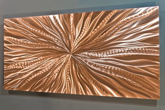 Copper Wall Art Metal Wall Art Copper Wall Decor Metal Wall | Etsy