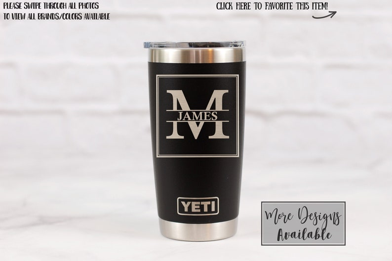 a14524551dc Personalized YETI tumbler Fathers Day Gift Idea Fathers Day image 0 ...