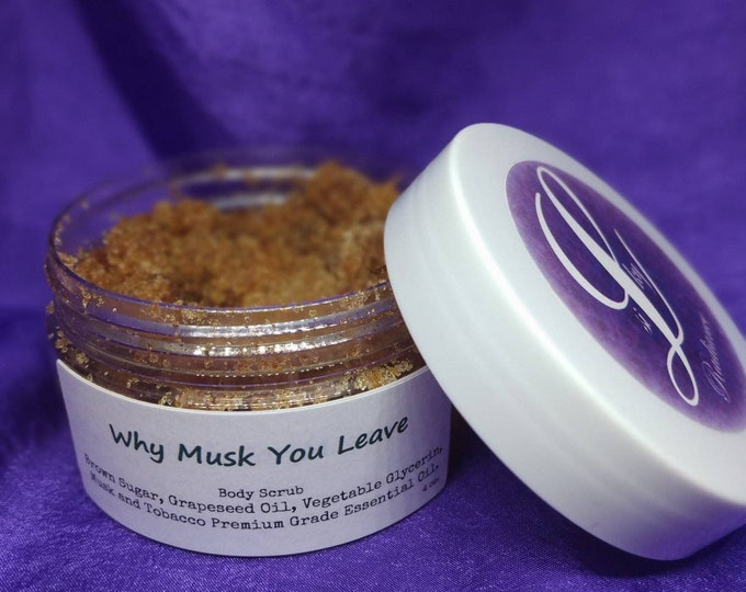 Why Musk You Leave Men's Body Scrub