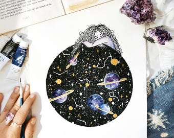 Constellations Within, Space Art