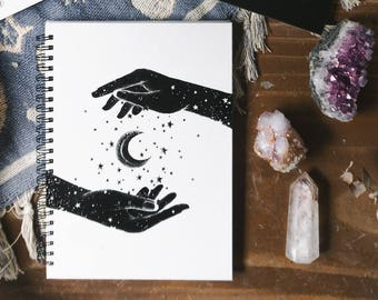 Notebook - Creation; A5 Hard Cover, Twinwire Notebook