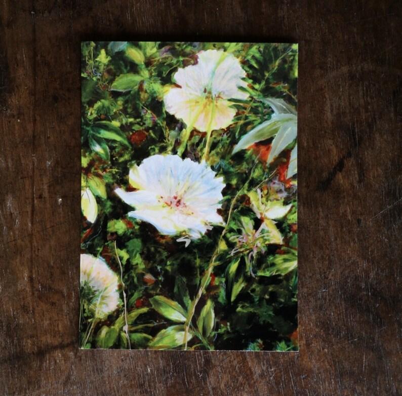Lot De 3 Cartes Postales Fleurs Herbes Vertes Format A6 Etsy