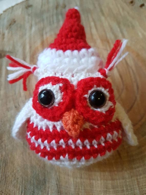 Santa Christmas Owl
