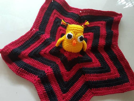 Owl Lovey Blanket