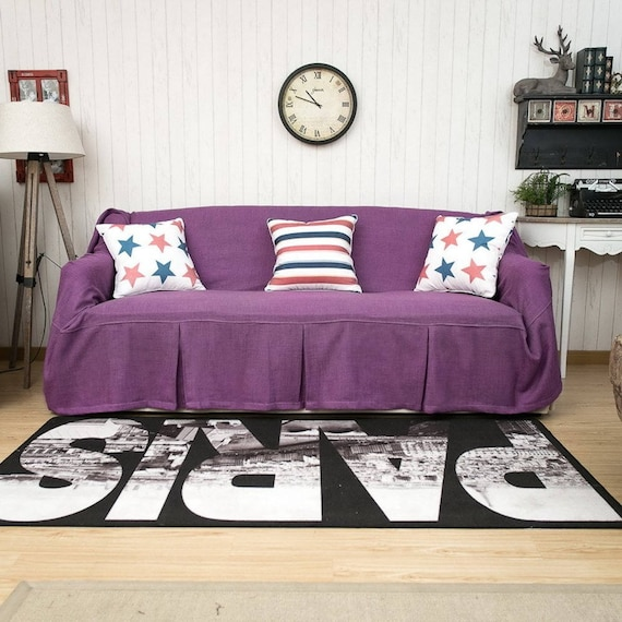 Phenomenal Purple Sofa Covers Sofa Chair Covers Sofa Slipcovers Sofa Throws Couch Covers Couch Throws Couch Cover For Pets Custom Couch Covers Ibusinesslaw Wood Chair Design Ideas Ibusinesslaworg