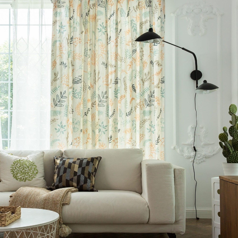 One Panel Curtain Custom Curtain Drapery Curtain Bedroom Etsy