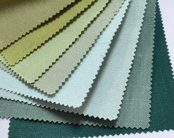 GREEN plain roman shade, custom roman shade washable, office bedroom living room curtains, modern roman shade, fabric blinds ,UK002-22