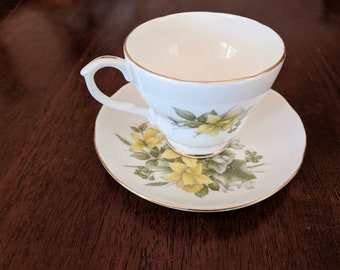 Vintage Duchess Bone China Cup and Saucer