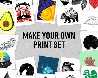 Pick Any 2 Prints   Pick Any 3 Prints   Create A Custom Print Set