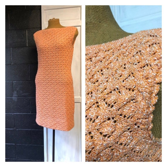 Goldworm Crochet Dress/ Top Quality Designer