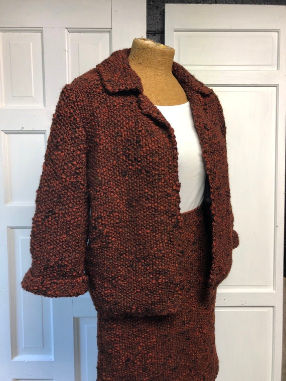 Two Piece Suit Knit Suit Chunky Knit