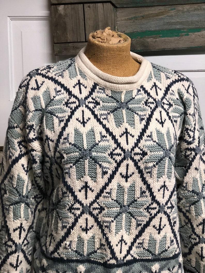 Venezia Nordic Sweater Red Gray Plus Size 22 24
