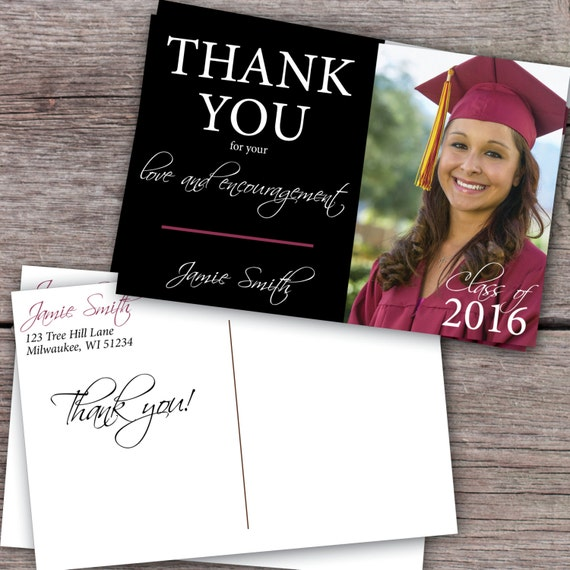 image 0 - Graduation Thank You Cards