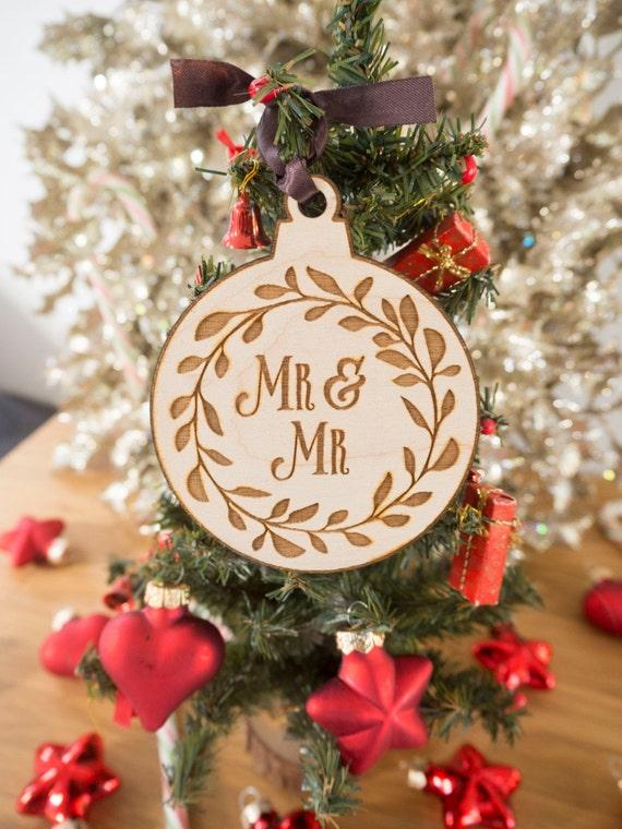 Gay christmas ornaments