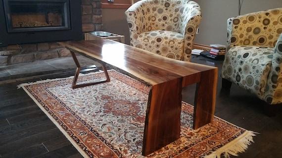 Fine Waterfall Live Edge Coffee Table Cjindustries Chair Design For Home Cjindustriesco