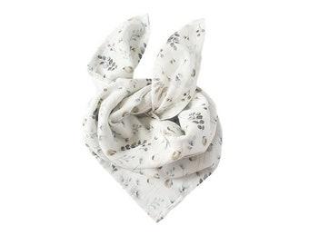 Lange Chèche scarf baby child cotton organic poppy