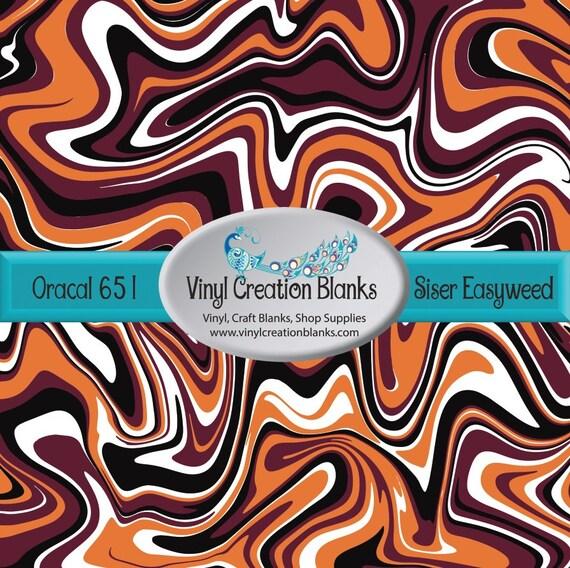 Maroon Burnt Orange Black And White Swirl Pattern Vinyl Etsy