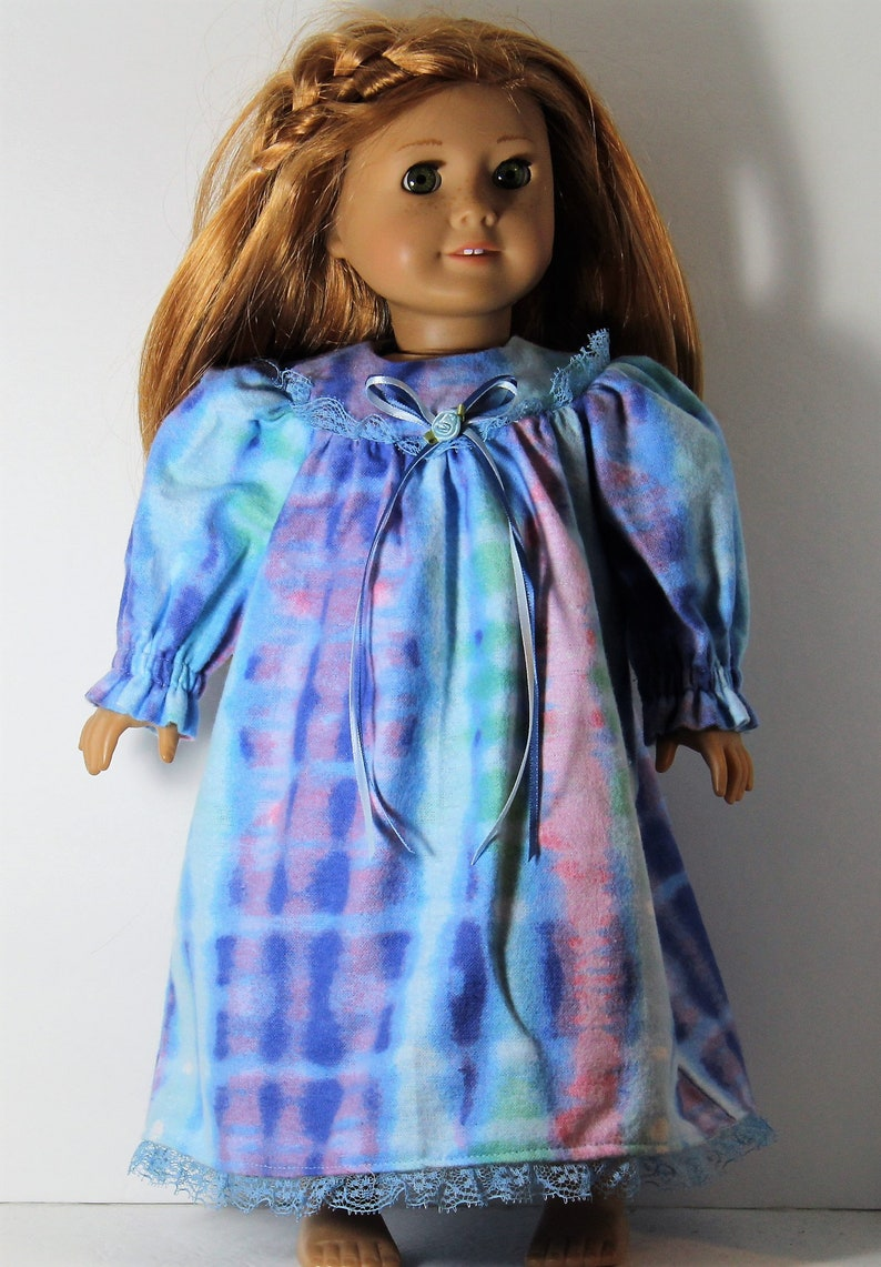 18 Doll Clothes fit American Girl Old Fashioned Flannel  06a89806c