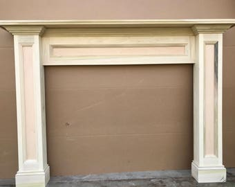 Fireplace Surround Etsy