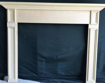 Fireplace Mantel Surround Paint Grade 1005