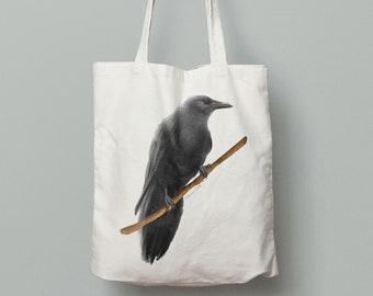 Raven Totebag
