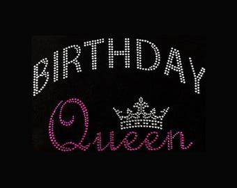 fe3e2a113 Birthday, Birthday Queen (6x9