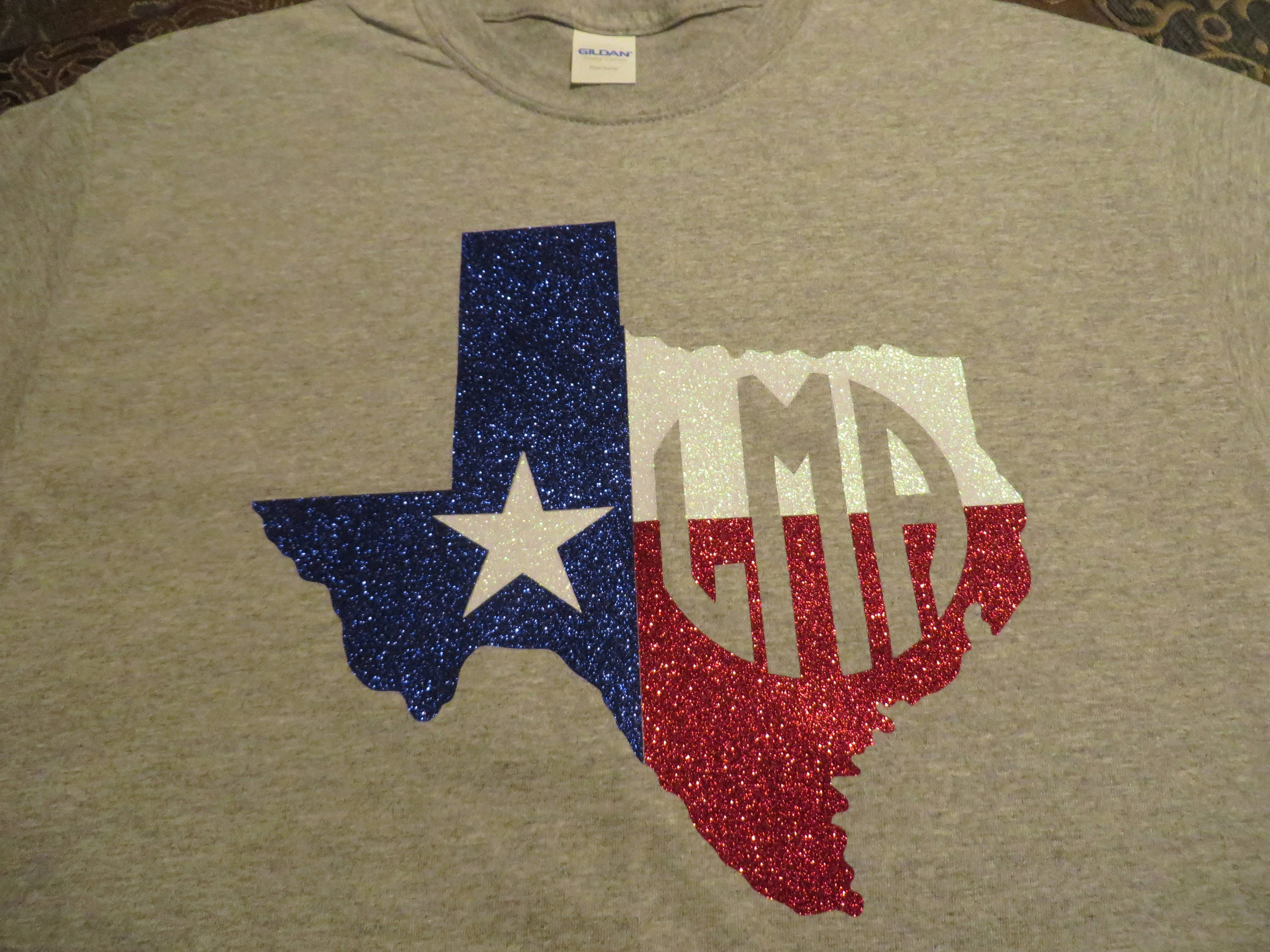 customize shirts with glitter letters rockwall auction