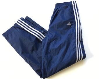 0549dad3feaa2 Adidas snap pants   Etsy