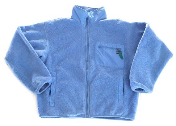 1990s PATAGONIA Fleece Zip Up Jacket // Size 10