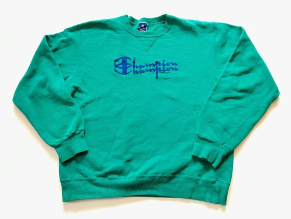 1990s CHAMPION DOUBLE LOGO Distressed Vintage Pull