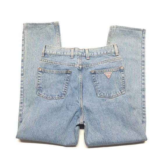 1990s GUESS jeans High Rise Vintage Denim // Size