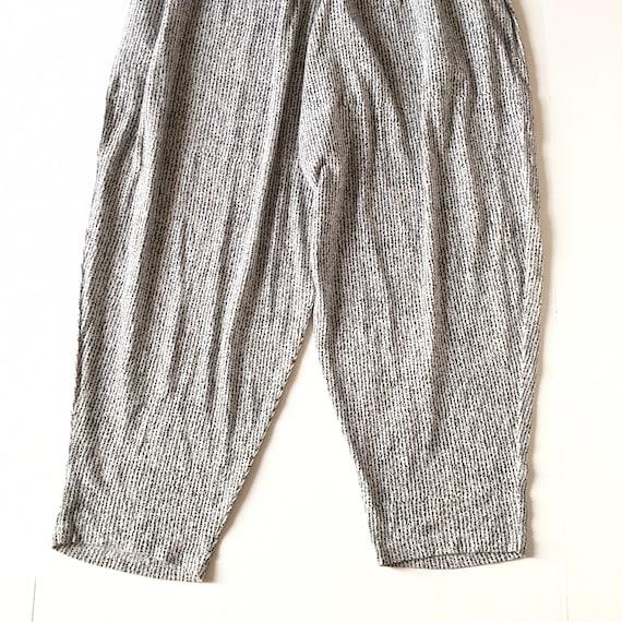 1990s Vintage Printed Pants // Size Large - image 3