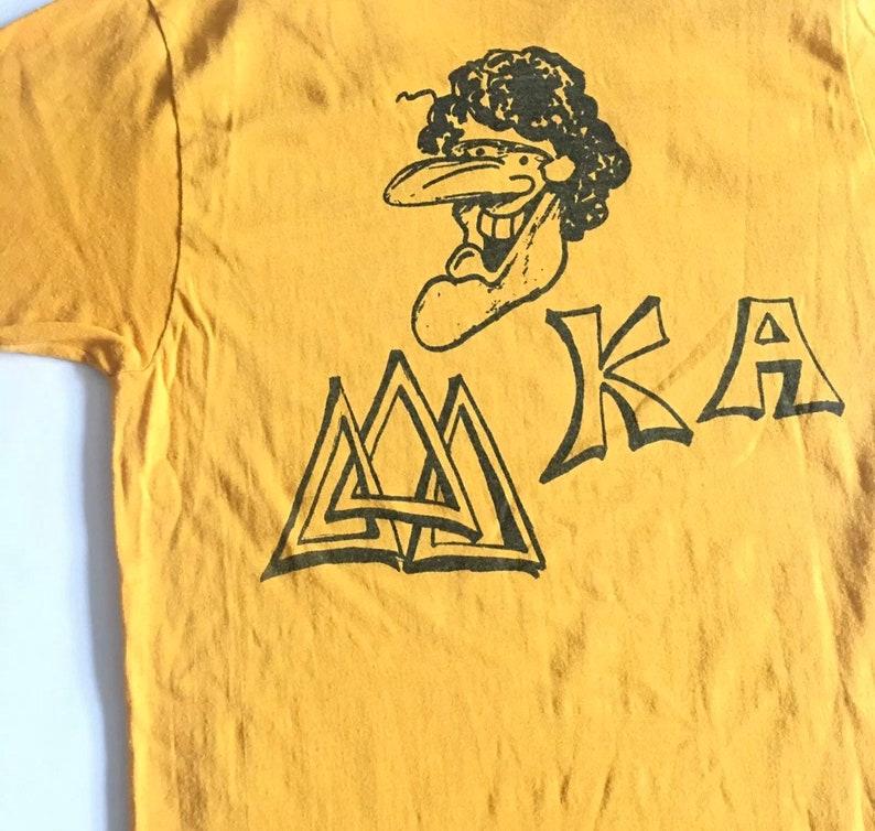 1970s UNIVERSITY TEE Phi Mu Alpha University Sing Vintage T Shirt  Size Large