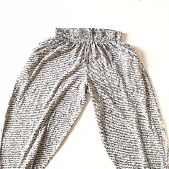 1990s Vintage Printed Pants // Size Large - image 2