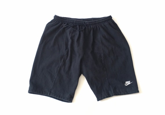 1990s NIKE ACG Black Cotton Vintage Shorts // Size