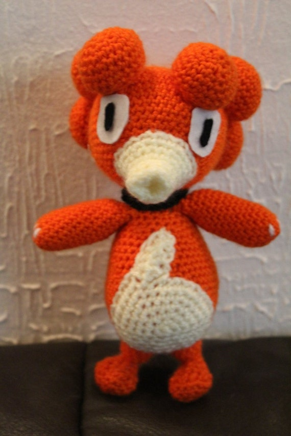 Magby Pokemon Crochet Pattern With Pictures Diy Etsy