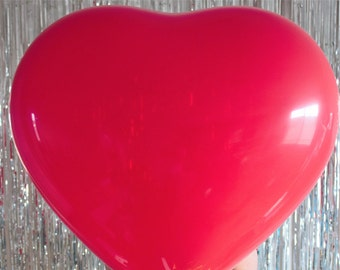 Red Heart Giant Balloon