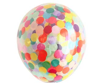Confetti balloon Larger 40cm Party Decoration