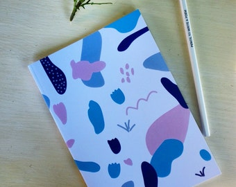 Pastel notebook & Pencil to write a poem